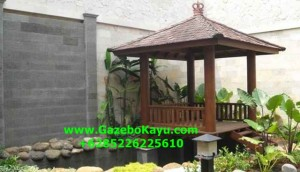 Jual Gazebo Kayu Kelapa Murah Jakarta JG-05