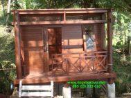 Coconut wooden house  RK-12 Rumah Kayu kelapa Minimalis