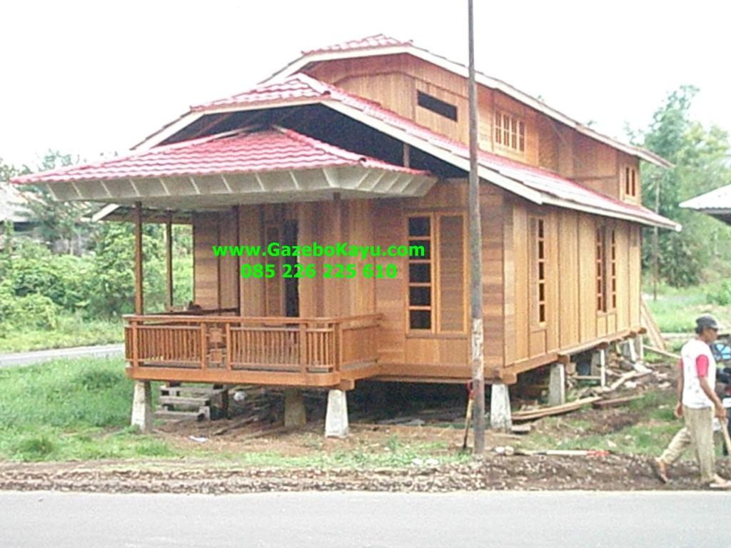 Jual Rumah Kayu Kelapa Bandung Minimalis Konocdown RK-07