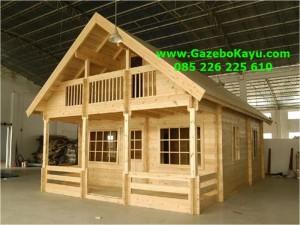 Rumah Kayu Murah Denpasar Bali RK-06 Rumah Kayu Kelapa