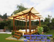 Gazebo Taman Rumah Minimalis Bandung GT-09