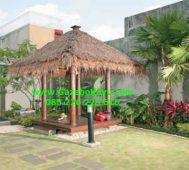 Jual Bale Bengong Kayu Kelapa GB-10 Gazebo Bali