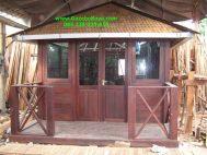 Harga Jual Rumah Kayu Minimalis Murah Berkualitas RK-10 Rumah Kayu Jepara