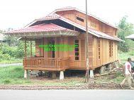 Jual Rumah Kayu Kelapa  Bandung Minimalis Knockdown RK-07