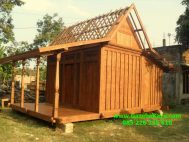 Rumah Kayu Jati Minimalis Model Joglo Khas Jawa RK-14