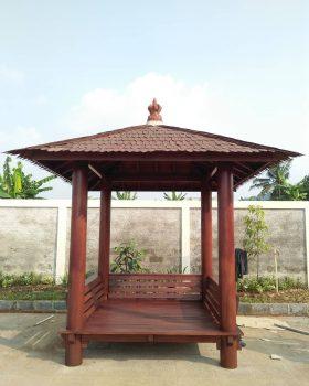 Jual Gazebo Sekolah Jakarta Desain Minimalis 2 x 2 Meter